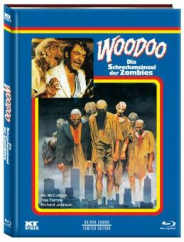 Woodoo - Die Schreckensinsel der Zombies (Mediabook, Blu-ray+DVD, Cover C) (1979) [FSK 18] [Blu-ray]