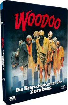 Woodoo - Die Schreckensinsel der Zombies (Uncut, Metalpak) (1979) [FSK 18] [Blu-ray]