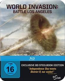 World Invasion: Battle Los Angeles (limitiertes Steelbook, Erstauflage) (2011) [Blu-ray]