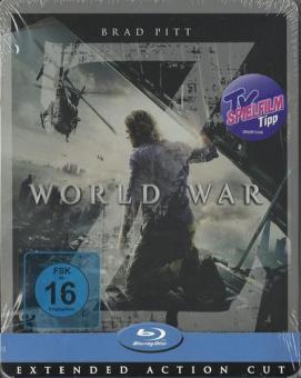 World War Z (Limited Steelbook) (2013) [Blu-ray]