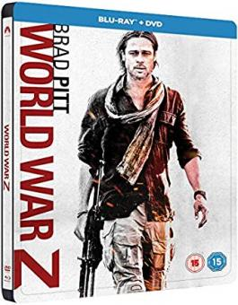 World War Z (Limited Steelbook) (2013) [UK Import mit dt. Ton] [Blu-ray]
