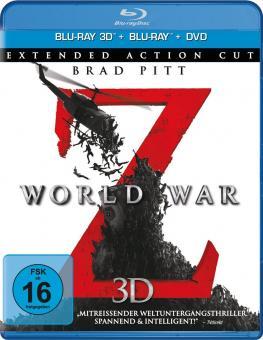 World War Z (+Blu-ray+DVD) (2013) [3D Blu-ray]