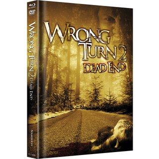 Wrong Turn 2: Dead End (Limited Mediabook, Blu-ray+DVD, Original Cover) (2007) [FSK 18] [Blu-ray]