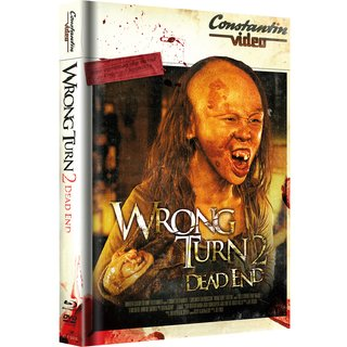 Wrong Turn 2: Dead End (Limited Mediabook, Blu-ray+DVD, Retro Cover) (2007) [FSK 18] [Blu-ray]