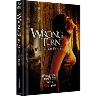 Wrong Turn 3 - Left for Dead (Limited Mediabook, Blu-ray+DVD, Original Cover) (2009) [FSK 18] [Blu-ray]