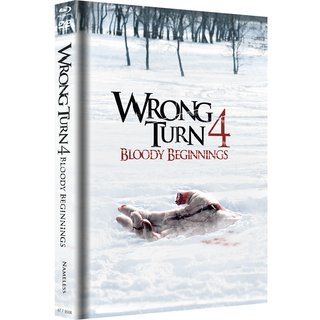 Wrong Turn 4: Bloody Beginnings (Limited Mediabook, Blu-ray+DVD, Original Cover) (2011) [FSK 18] [Blu-ray]