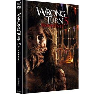 Wrong Turn 5: Bloodlines (Limited Mediabook, Blu-ray+DVD, Original Cover) (2012) [FSK 18] [Blu-ray]