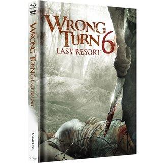 Wrong Turn 6 - Last Resort (Limited Mediabook, Blu-ray+DVD, Original Cover) (2014) [FSK 18] [Blu-ray]