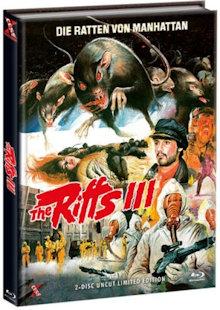 The Riffs III - Die Ratten von Manhattan (Limited Mediabook, Blu-ray+DVD, Cover C) (1984) [FSK 18] [Blu-ray]