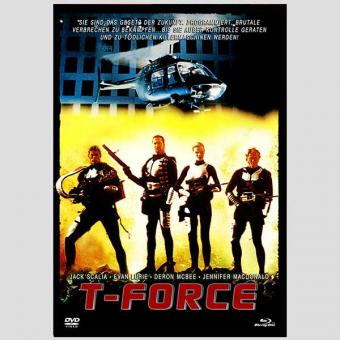 T-Force (Limited Mediabook, Blu-ray+DVD, Cover B) (1994) [FSK 18] [Blu-ray]