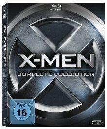 X-Men - Complete Collection (alle 5 Filme inkl. X-Men: Erste Entscheidung) (5 Discs) [Blu-ray]