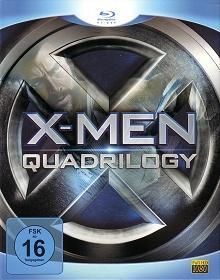 X-Men - Quadrilogy (4 Discs) [Blu-ray]