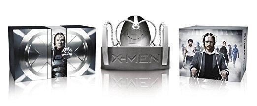 X-Men Cerebro Collection inkl. Cerebro Helm (alle X-Men Filme inkl. X-Men: Zukunft ist Vergangenheit) (Limited Edition, 11 Discs) [Blu-ray]
