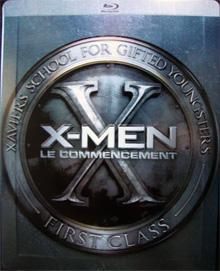 X-Men - Erste Entscheidung (2 Disc inkl. 40-seitiges Artwork-Buch) (Steelbook) (2011) [EU Import mit dt. Ton] [Blu-ray]