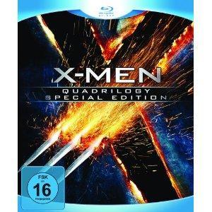 X-Men - Quadrilogy (8 Discs Special Edition) [Blu-ray]