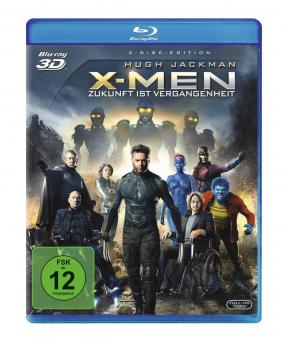 X-Men Zukunft ist Vergangenheit (3D Blu-ray+Blu-ray) (2014) [3D Blu-ray]