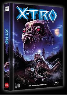 X-Tro - Nicht alle Außerirdischen sind freundlich (Limited Mediabook, Blu-ray+DVD, Cover A) (1982) [Blu-ray]