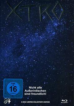 X-Tro - Nicht alle Außerirdischen sind freundlich (Limited Mediabook, Blu-ray+DVD+CD-Soundtrack, Cover G) (1982) [Blu-ray]