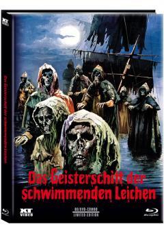 Das Geisterschiff der schwimmenden Leichen (Limited Mediabook, Blu-ray+DVD, Cover A) (1974) [FSK 18] [Blu-ray]