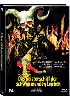 Das Geisterschiff der schwimmenden Leichen (Limited Mediabook, Blu-ray+DVD, Cover B) (1974) [FSK 18] [Blu-ray]