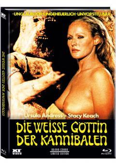 Die Weiße Göttin der Kannibalen (Limited Mediabook, Blu-ray+DVD, Cover A) (1977) [FSK 18] [Blu-ray]