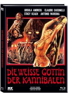 Die Weiße Göttin der Kannibalen (Limited Mediabook, Blu-ray+DVD, Cover B) (1977) [FSK 18] [Blu-ray]