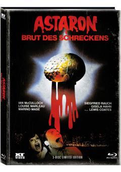 Astaron (Limited Mediabook, Blu-ray+2 DVDs, Cover B) (1980) [FSK 18] [Blu-ray]