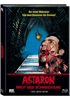 Astaron (Limited Mediabook, Blu-ray+2 DVDs, Cover C) (1980) [FSK 18] [Blu-ray]