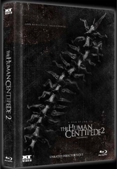 The Human Centipede 2 (Limited Collectors Mediabook, Blu-ray+DVD) (Cover A) (2011) [FSK 18] [Blu-ray]