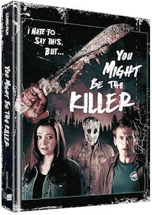 You Might Be the Killer (Limited Mediabook, Blu-ray+DVD, Cover B) (2018) [FSK 18] [Blu-ray]