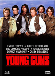 Young Guns (Limited Mediabook, Blu-ray+DVD, Cover A)  (1988) [Blu-ray]