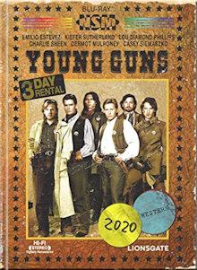 Young Guns (Limited Mediabook, Blu-ray+DVD, Cover B)  (1988) [Blu-ray]
