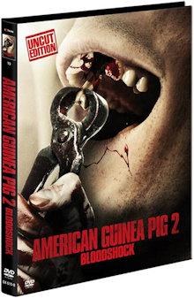 American Guinea Pig 2 - Bloodshock (Limited Mediabook, Cover B) (2015) [FSK 18]