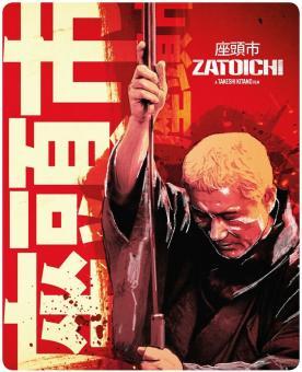 Zatoichi - Der blinde Samurai (Limited Steelbook) (2003) [UK Import] [Blu-ray]