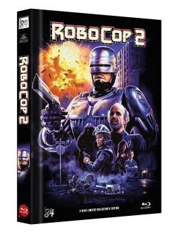 Robocop 2 (Limited Mediabook, Blu-ray+DVD, Cover C) (1990) [FSK 18] [Blu-ray]
