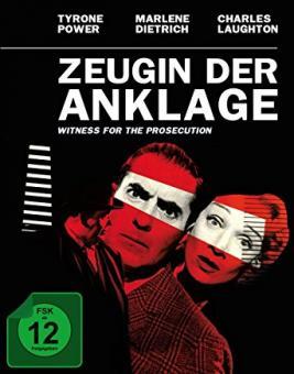 Zeugin der Anklage (Limited Mediabook) (1957) [Blu-ray] [Gebraucht - Zustand (Sehr Gut)]