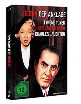 Zeugin der Anklage (Limited Mediabook) (1957) [Blu-ray]