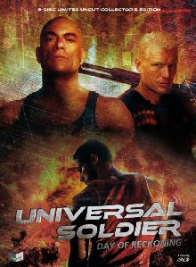 Universal Soldier - Day of Reckoning (Limited Uncut Mediabook, Blu-ray+DVD, Cover B) (2012) [FSK 18] [3D Blu-ray]