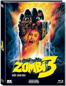 Zombie 3 (Limited Mediabook, Blu-ray+DVD, Cover A) (1988) [FSK 18] [Blu-ray]