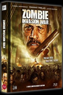 Zombie Invasion War (2 Disc Limited Mediabook, 3D Blu-ray + DVD) (2012) [FSK 18] [3D Blu-ray]