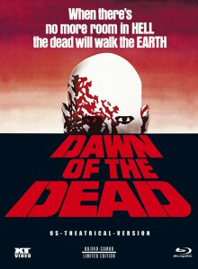 Dawn Of The Dead (Limited 3 Disc Mediabook, Blu-ray+DVD, US-Theatrical Version  - Cover A) (1978) [FSK 18] [Blu-ray]