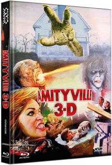 Amityville Horror 3 (Limited Mediabook, Blu-ray+DVD, Cover E) (1983) [FSK 18] [Blu-ray]