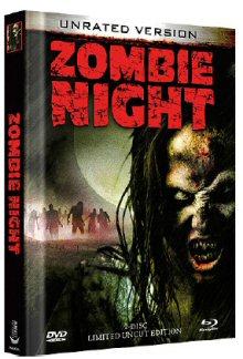 Zombie Night (Limited Uncut Mediabook, DVD + Blu-ray + 3D Blu-ray, Cover A) [FSK 18] [3D Blu-ray]