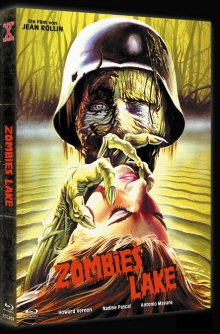 Sumpf der Lebenden Toten - Zombies Lake (Limited Mediabook, Blu-ray+DVD, Cover A) (1981) [FSK 18] [Blu-ray]
