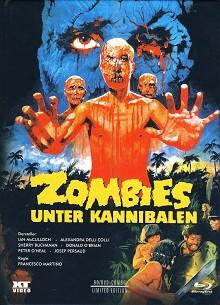 Zombies unter Kannibalen (3 Disc Mediabook, Blu-ray+DVD) (1979) [FSK 18] [Blu-ray]