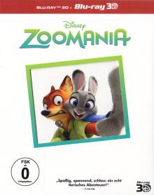 Zoomania (3D Blu-ray+Blu-ray) (2016) [3D Blu-ray]