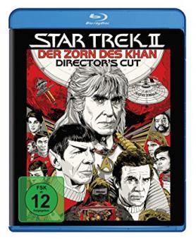 Star Trek 2 - Der Zorn des Khan (Director's Cut) (1982) [Blu-ray]