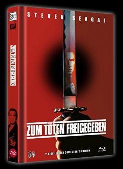 Zum Töten freigegeben (Limitiertes Mediabook, Limitert auf 999 Stück, Blu-ray+DVD, Cover A) (1990) [FSK 18] [Blu-ray]