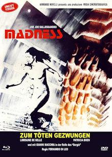 Madness - Zum töten gezwungen (Limited Mediabook, Blu-ray+DVD, Cover B) (1980) [FSK 18] [Blu-ray]
