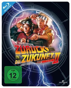 Zurück in die Zukunft II (Steelbook) (1989) [Blu-ray]